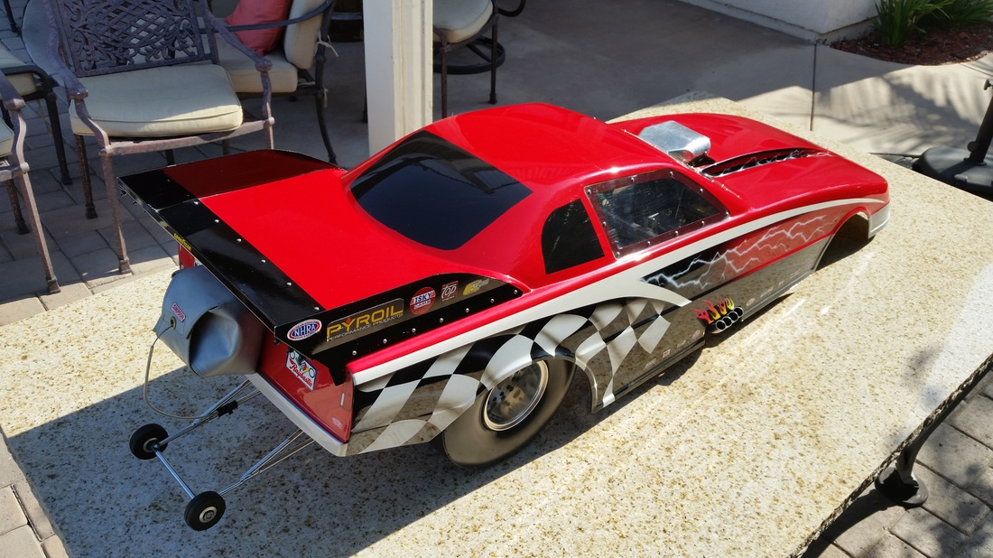 Pacesetter Funny Car - QuarterScale Legends - Awesome History of 14 ...