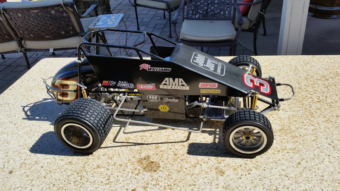 Phoenix Arrow Quot Rip Quot Williams Sprint Car Quarterscale